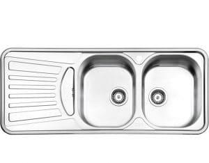 سینک استیل البرز مدل 725 توکار