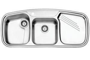 سینک استیل البرز مدل 614 NEW توکار