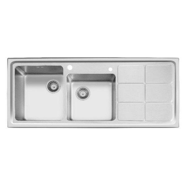 سینک-ظرفشویی-اخوان-مدل-304-توکار-باکسی