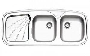 سینک استیل البرز مدل 270 توکار