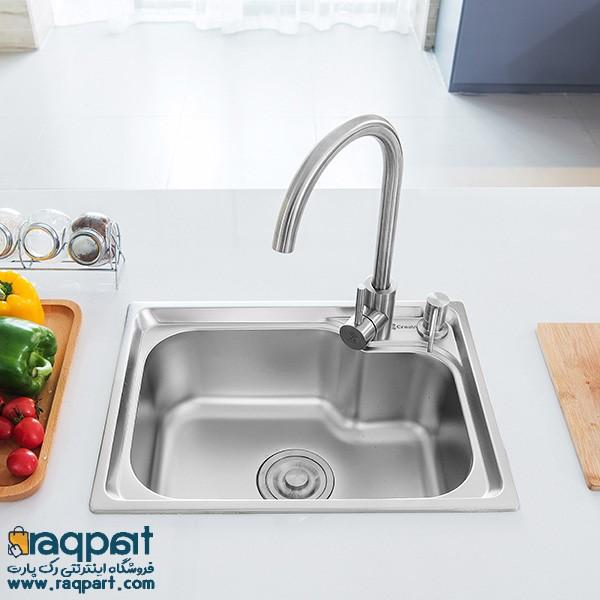انواع سینک ظرفشویی: ویژگی و کاربرد هر کدام